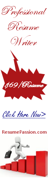 ResumePassion.com, the right priced resume writers