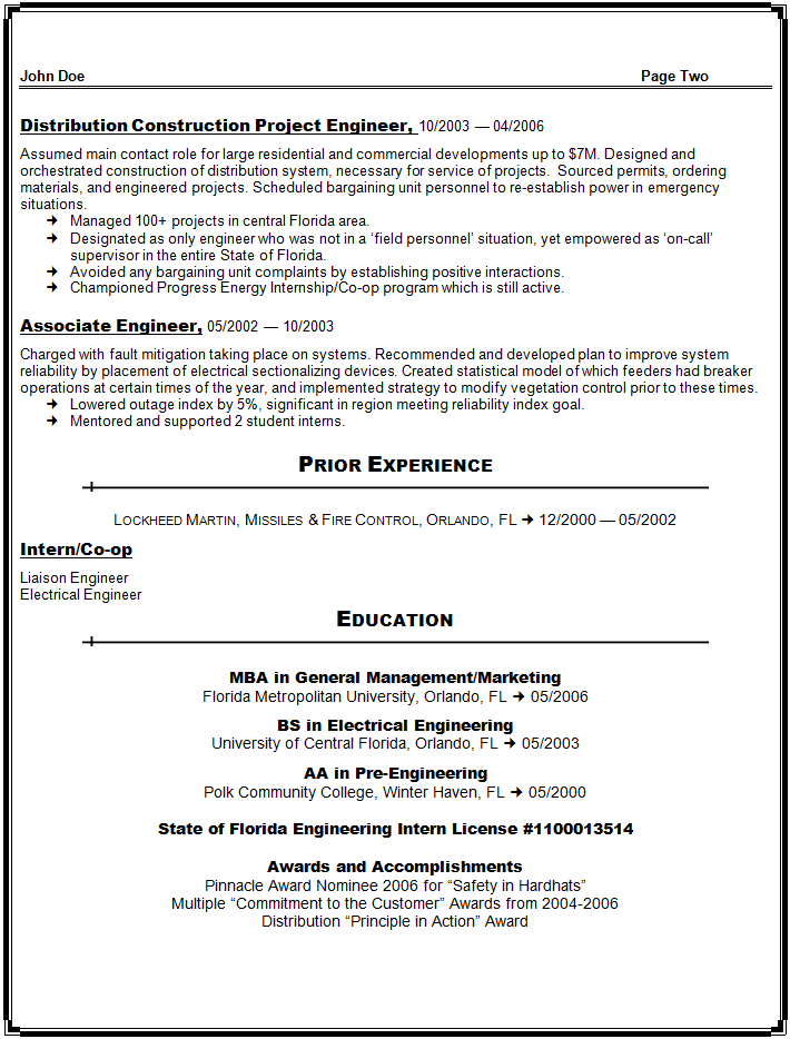 facilities engineer resume sle sle resume